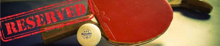 Резервирай тенис маса